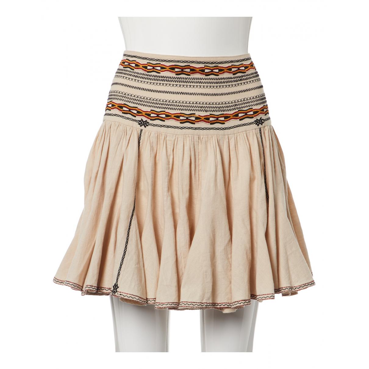 Isabel Marant Etoile N Beige Cotton skirt for Women 36 FR