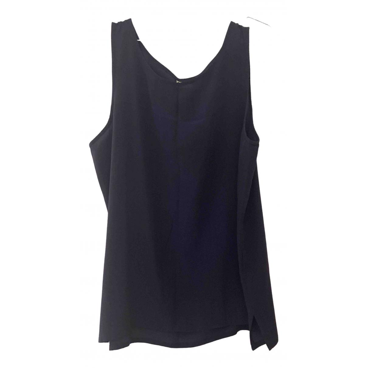 Blusa Oversize de Seda Non Signe / Unsigned
