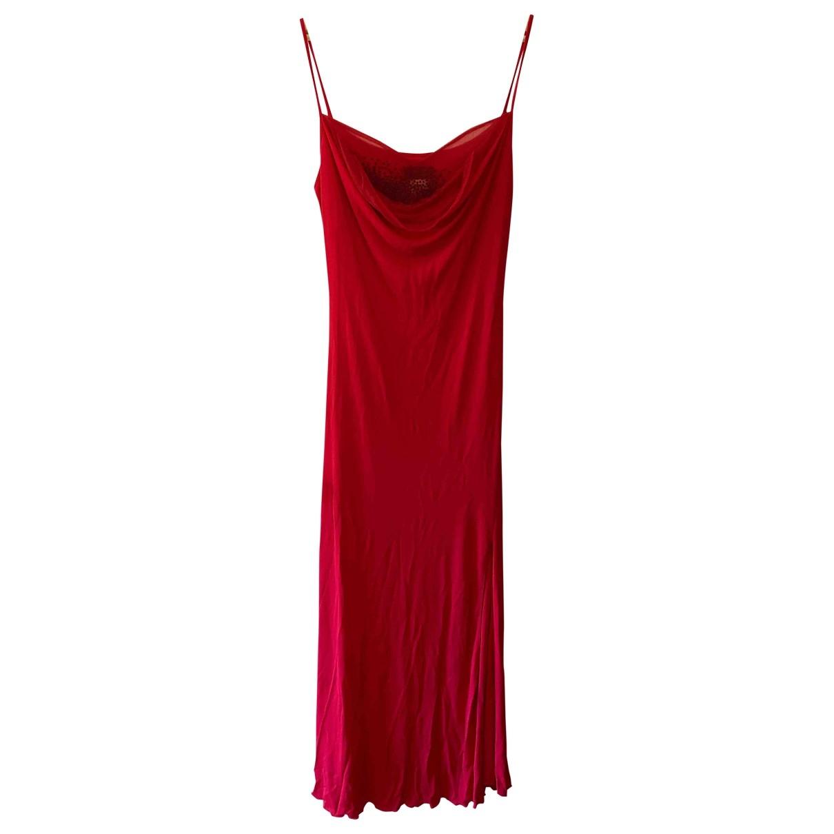 Versace \N Red dress for Women 48 IT