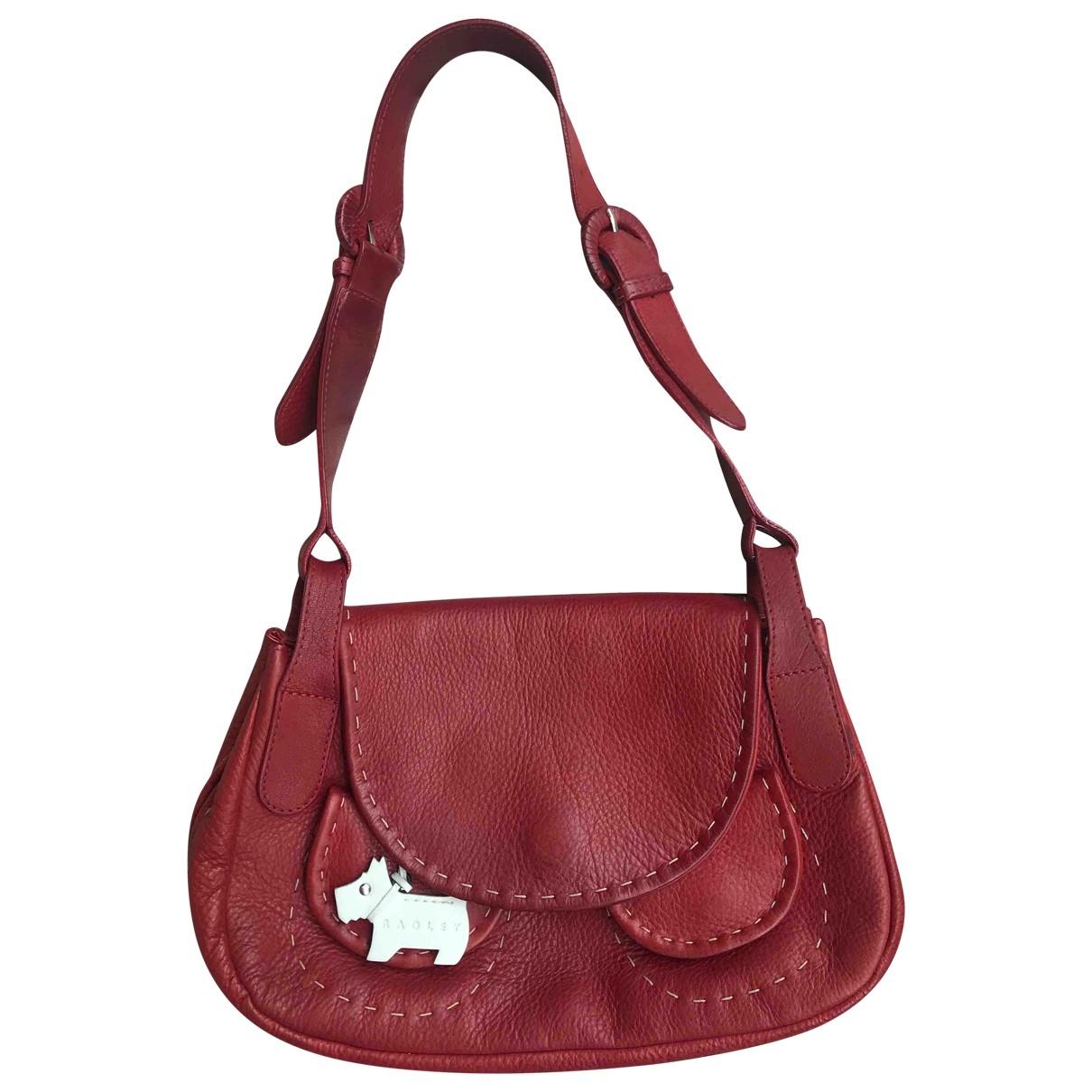 Radley London \N Handtasche in  Rot Leder