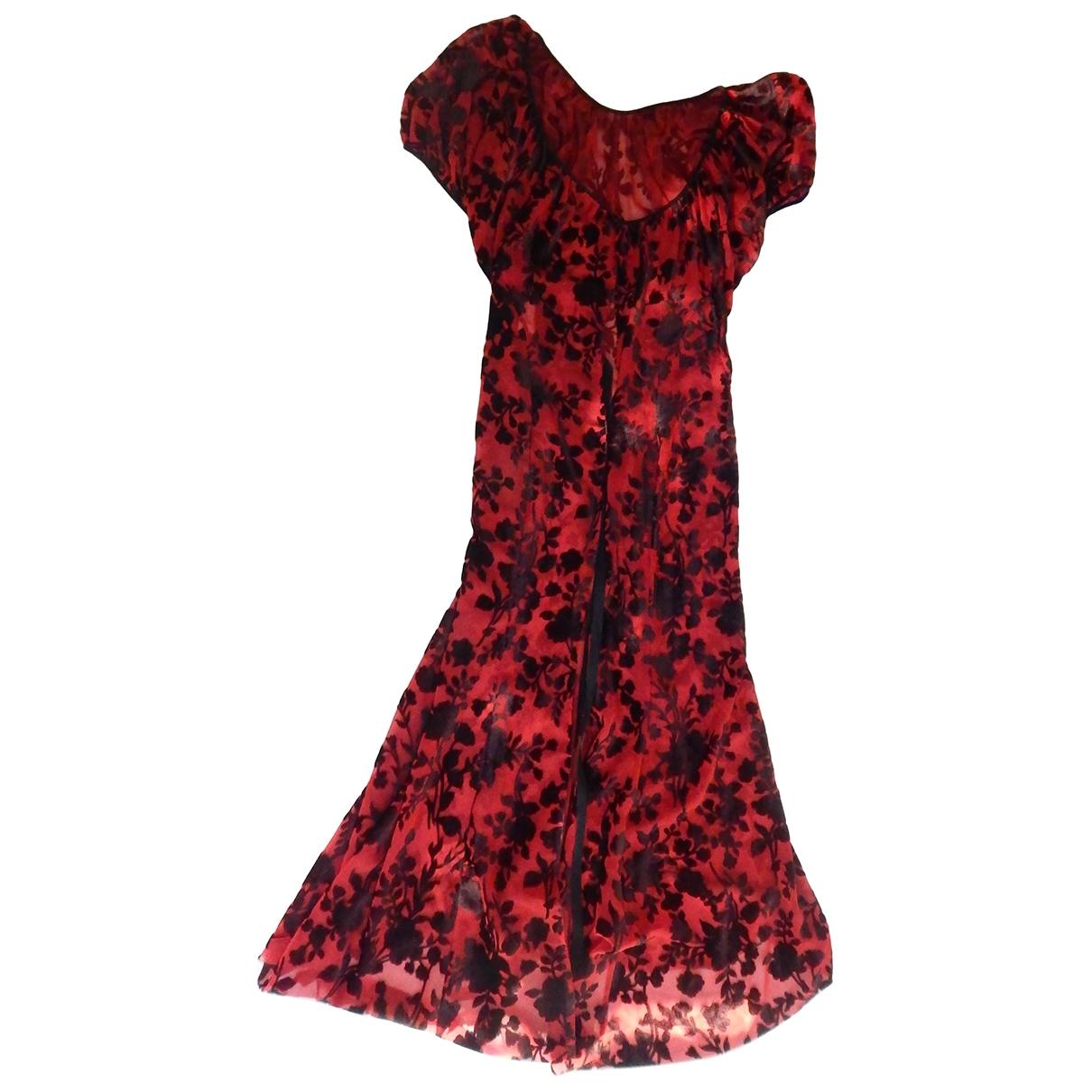 Junya Watanabe \N Kleid in  Rot Viskose