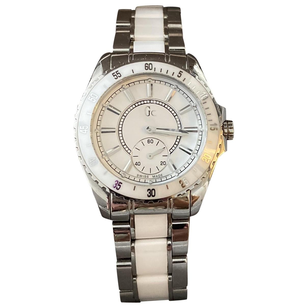 Guess \N White Steel watch for Women \N