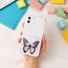 ROMWE X Cluengoart Butterfly iPhone Case