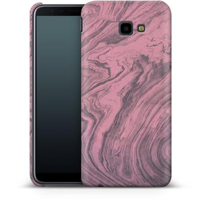 Samsung Galaxy J4 Plus Smartphone Huelle - Pink Marble von Emanuela Carratoni