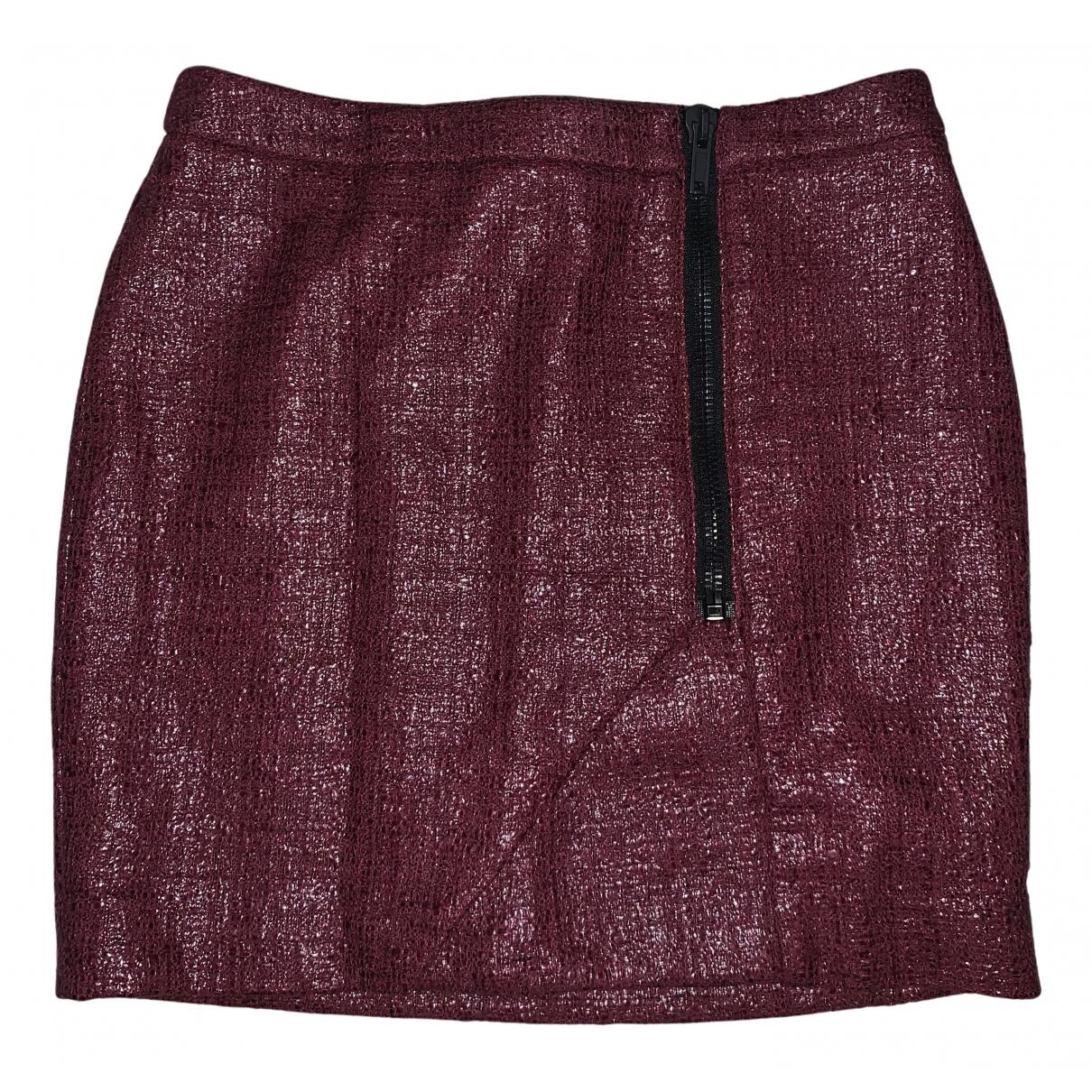 Msgm N Burgundy skirt for Women 38 IT