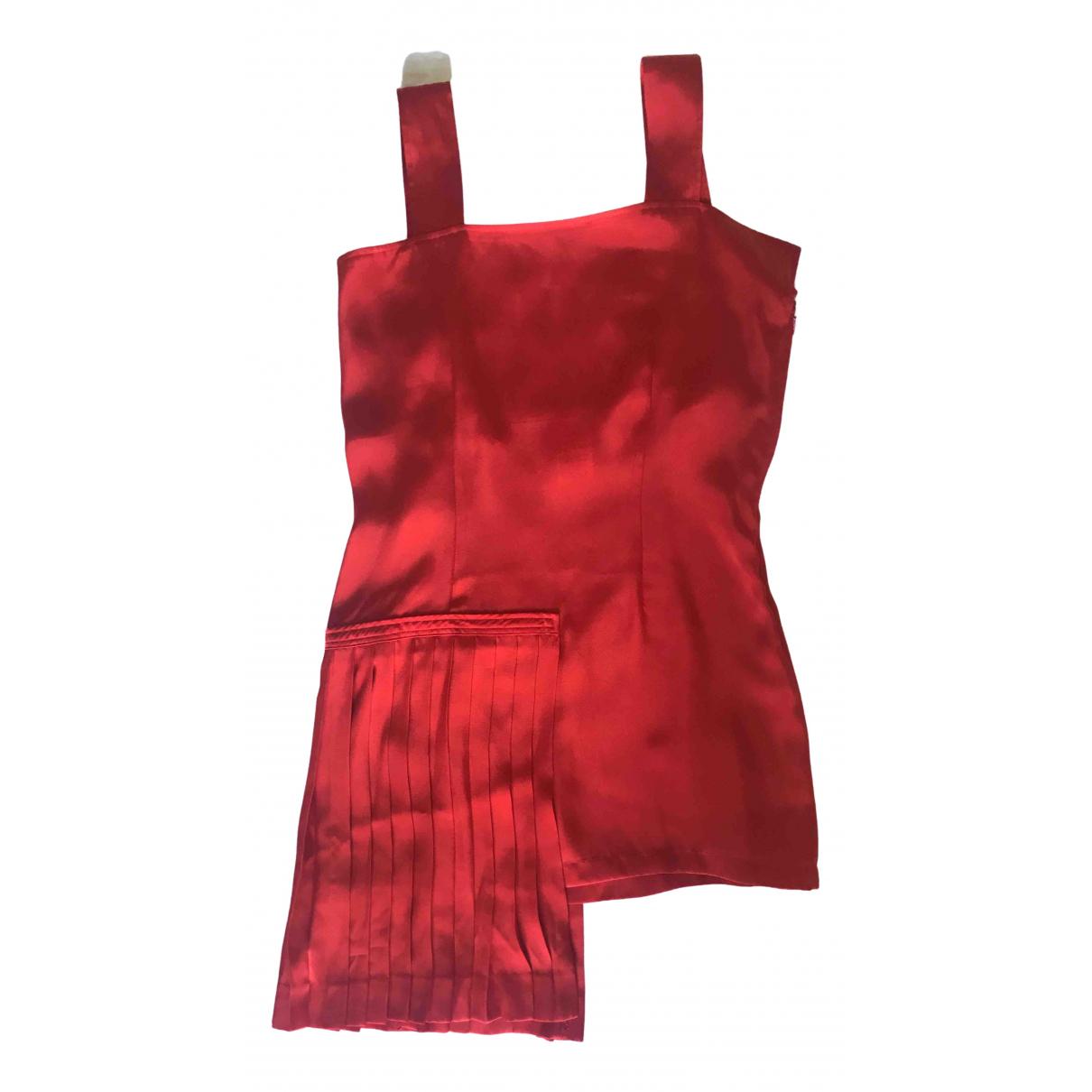 Ys \N Kleid in  Rot Polyester