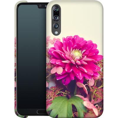 Huawei P20 Pro Smartphone Huelle - Pink Dahlia 2 von Joy StClaire