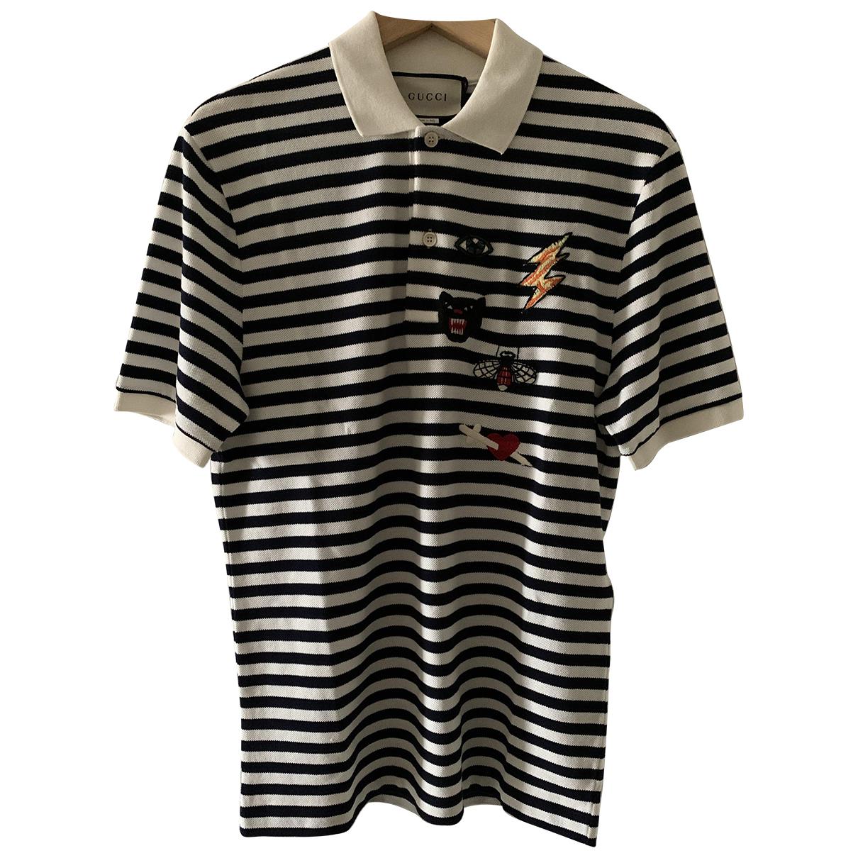 Gucci N Black Cotton Polo shirts for Men S International