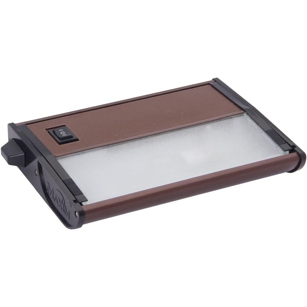 CounterMax MX-X12 5 Wide Aluminum Under Cabinet Light Kit (Metallic bronze)
