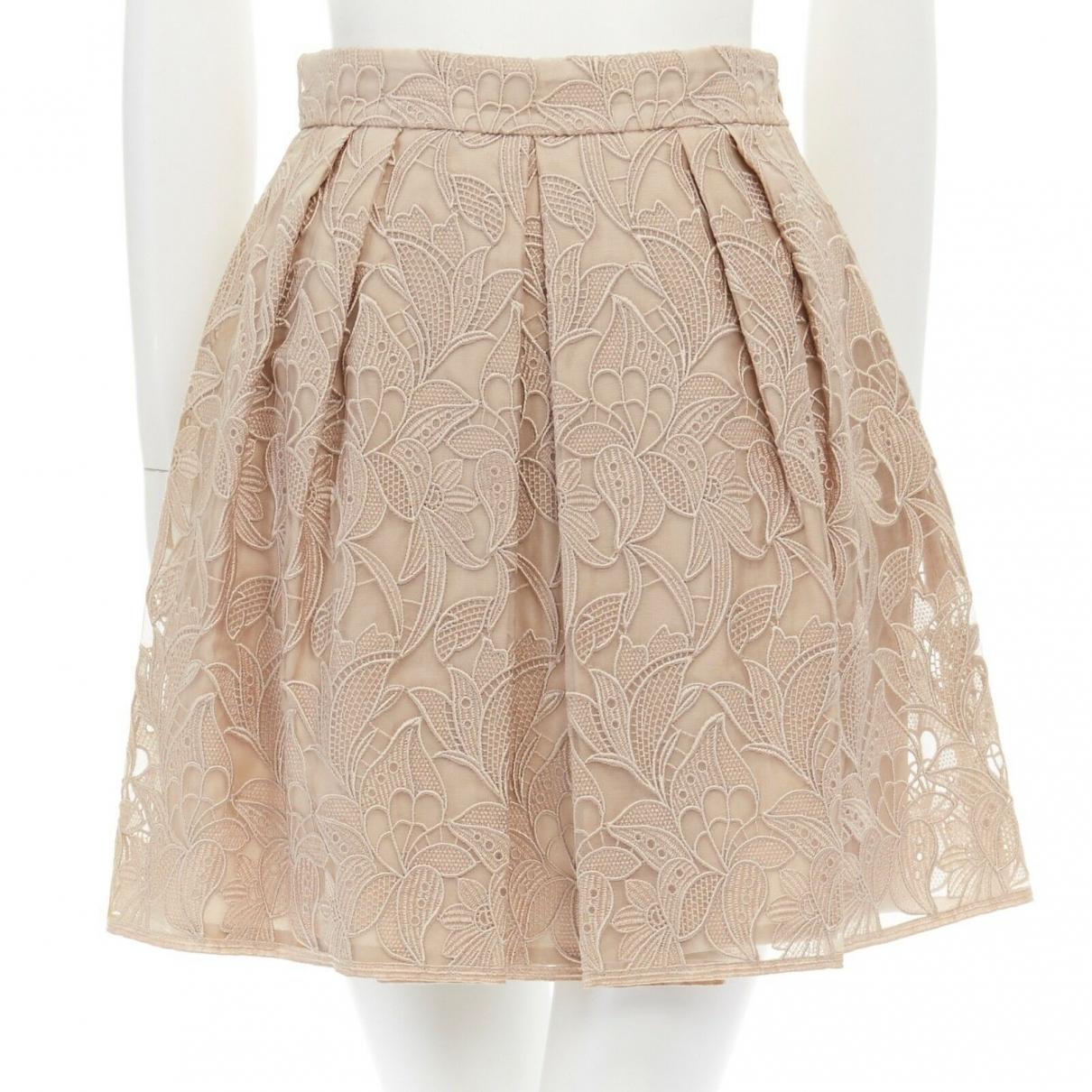 Stella Mccartney \N Beige skirt for Women 38 IT