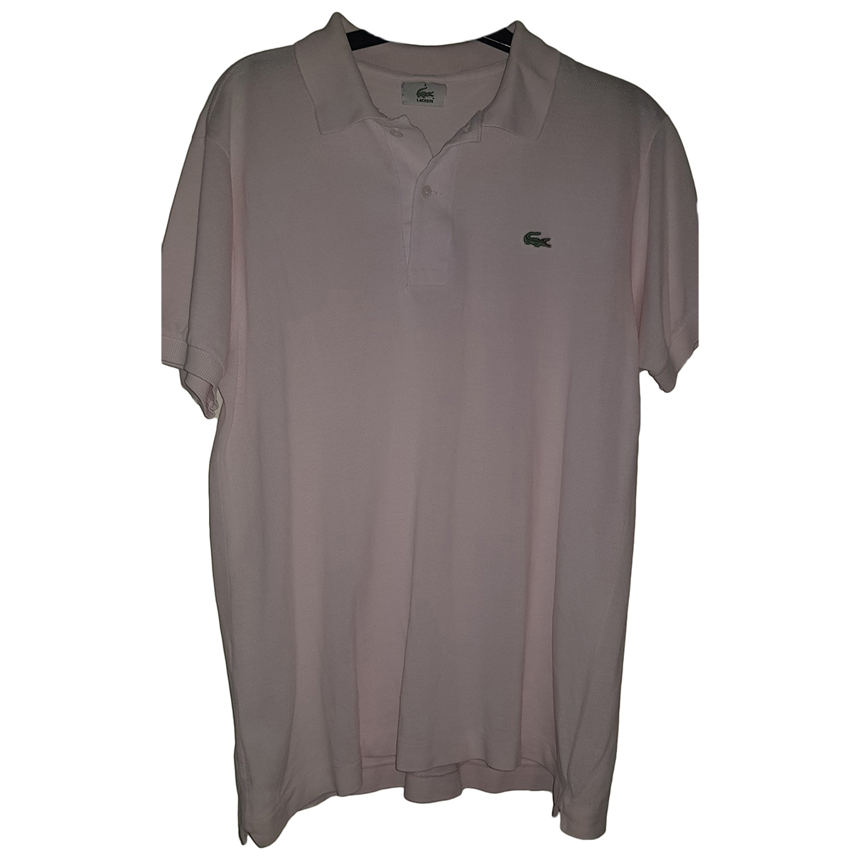 Lacoste \N Pink Cotton Polo shirts for Men M International