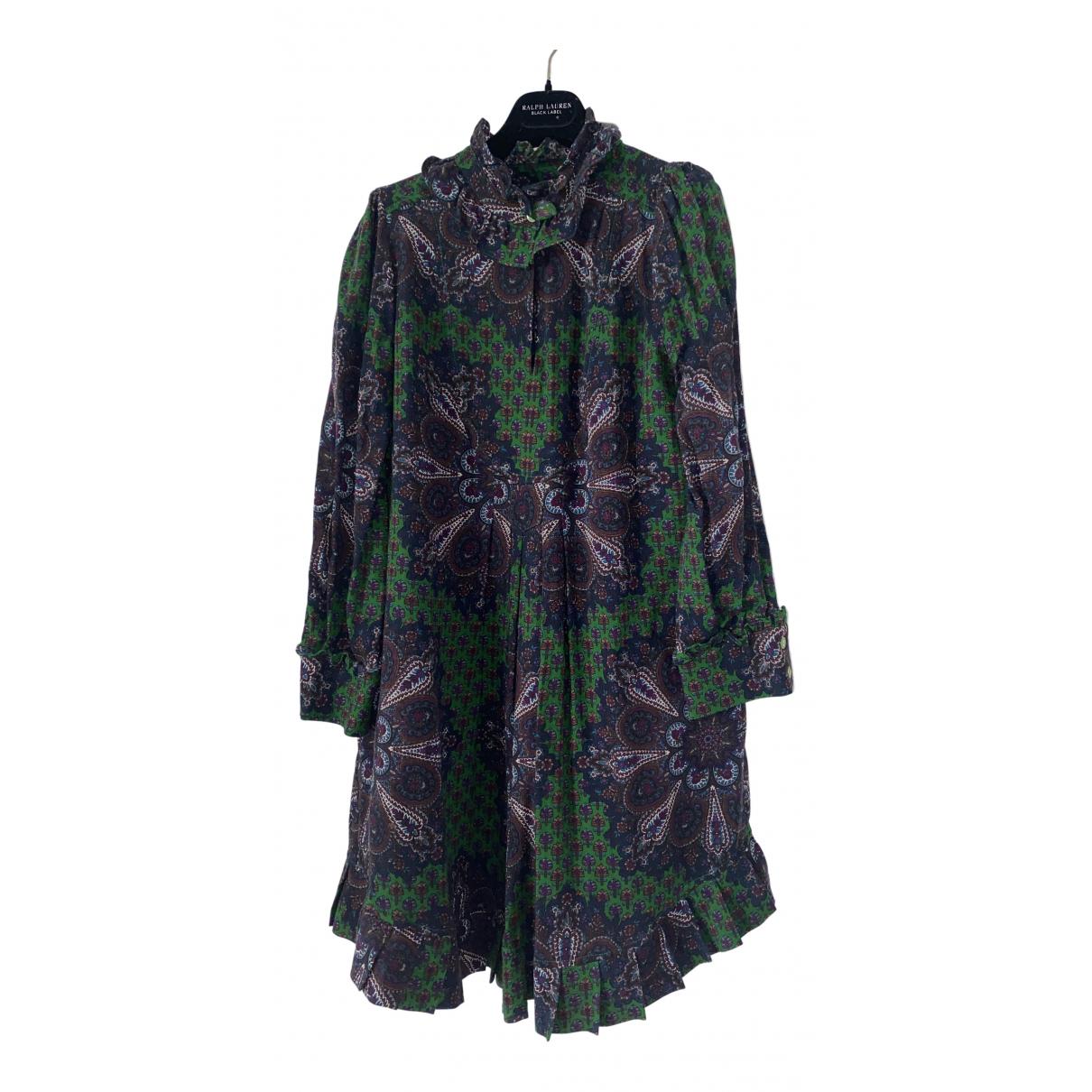 Marc By Marc Jacobs - Robe   pour femme en laine - vert