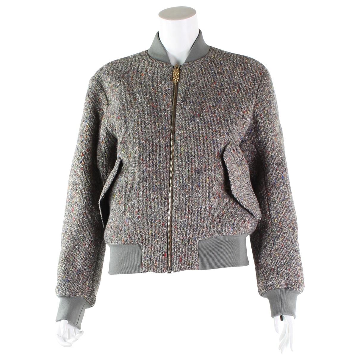 Acne Studios - Veste   pour femme en laine - gris