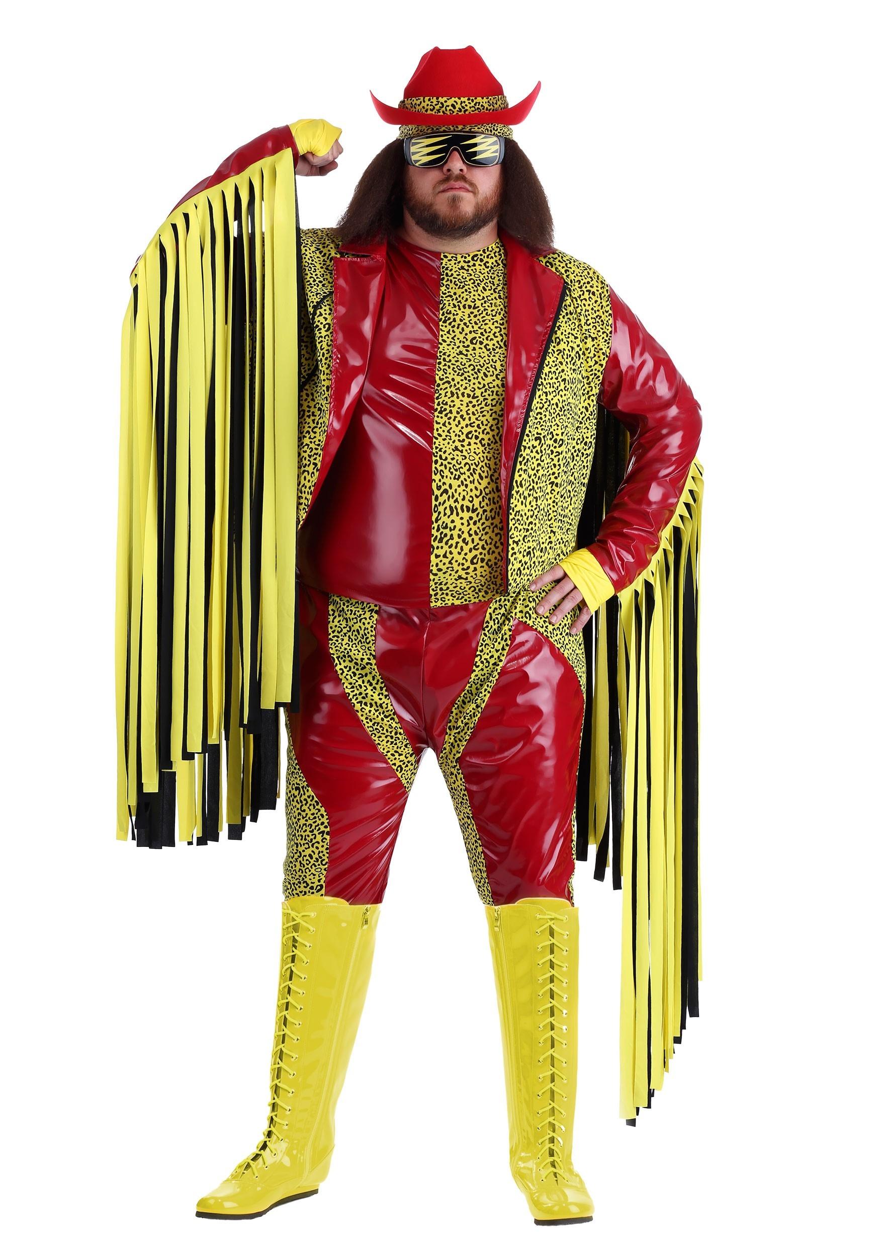 Plus Size Macho Man Randy Savage Costume | Exclusive