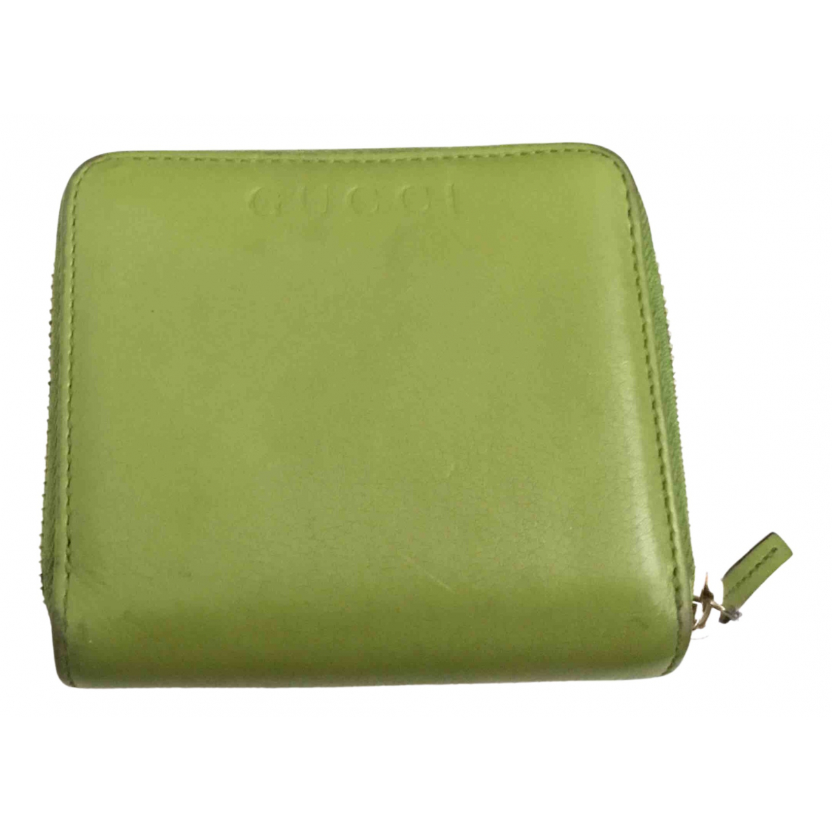 Gucci N Green Leather wallet for Women N