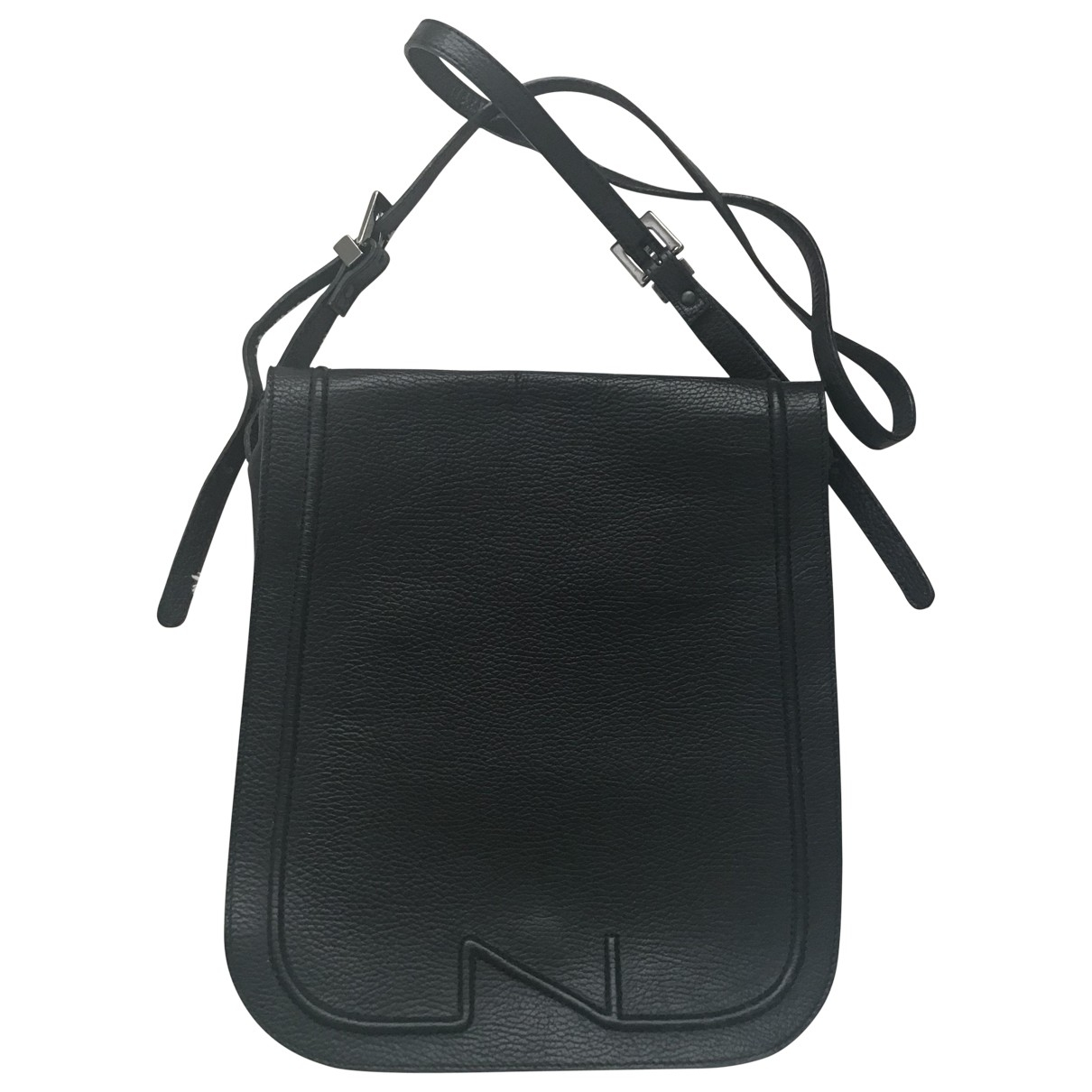 Nathan-baume \N Black Leather handbag for Women \N