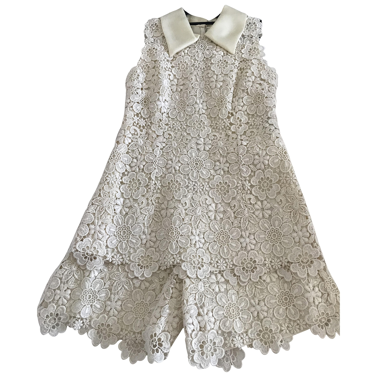 Mini vestido de Encaje Dolce & Gabbana