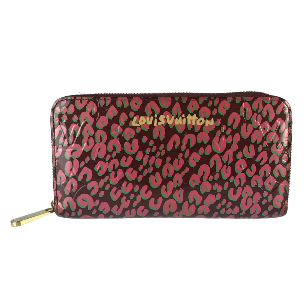 Louis Vuitton Zippy Burgundy Patent leather wallet for Women \N