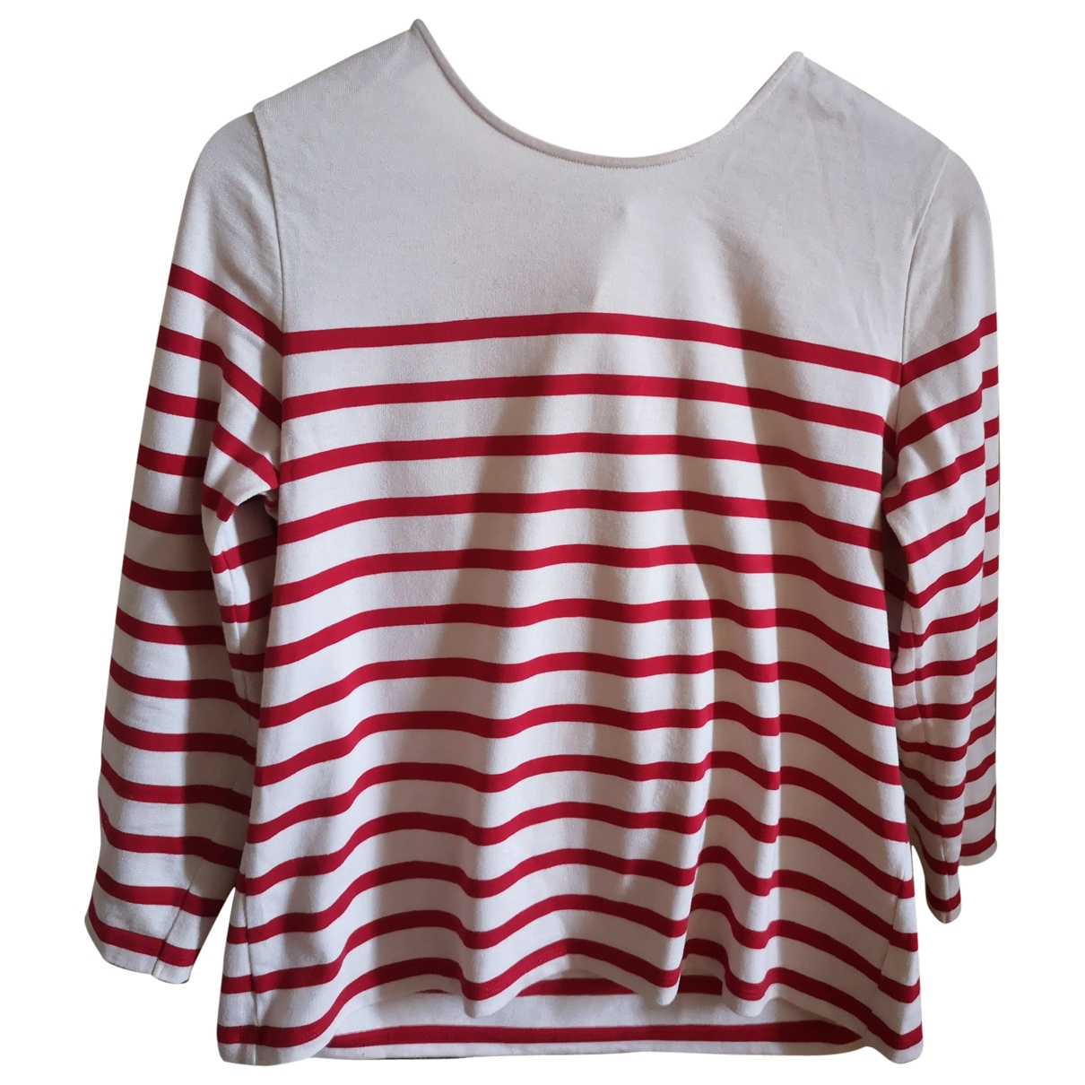 Sézane \N Red Cotton  top for Women 38 FR