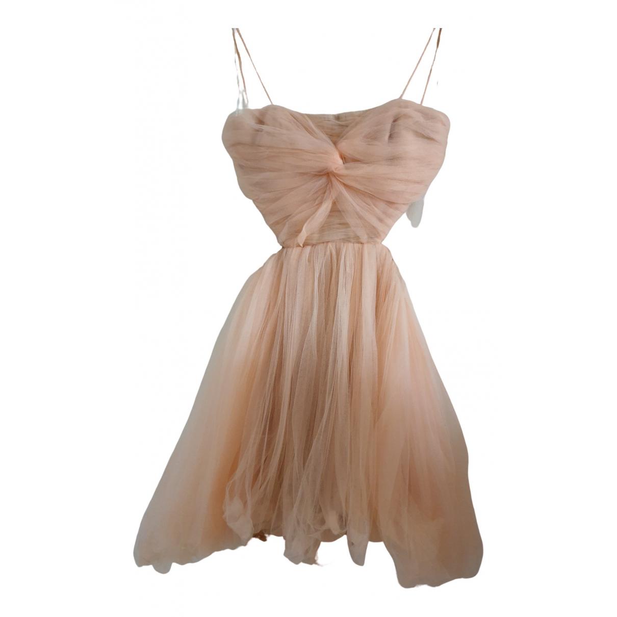 Maria Lucia Hohan \N Pink Silk dress for Women 38 FR