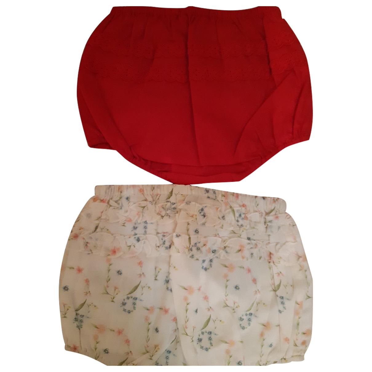 Baby Dior - Short   pour enfant en coton - rouge