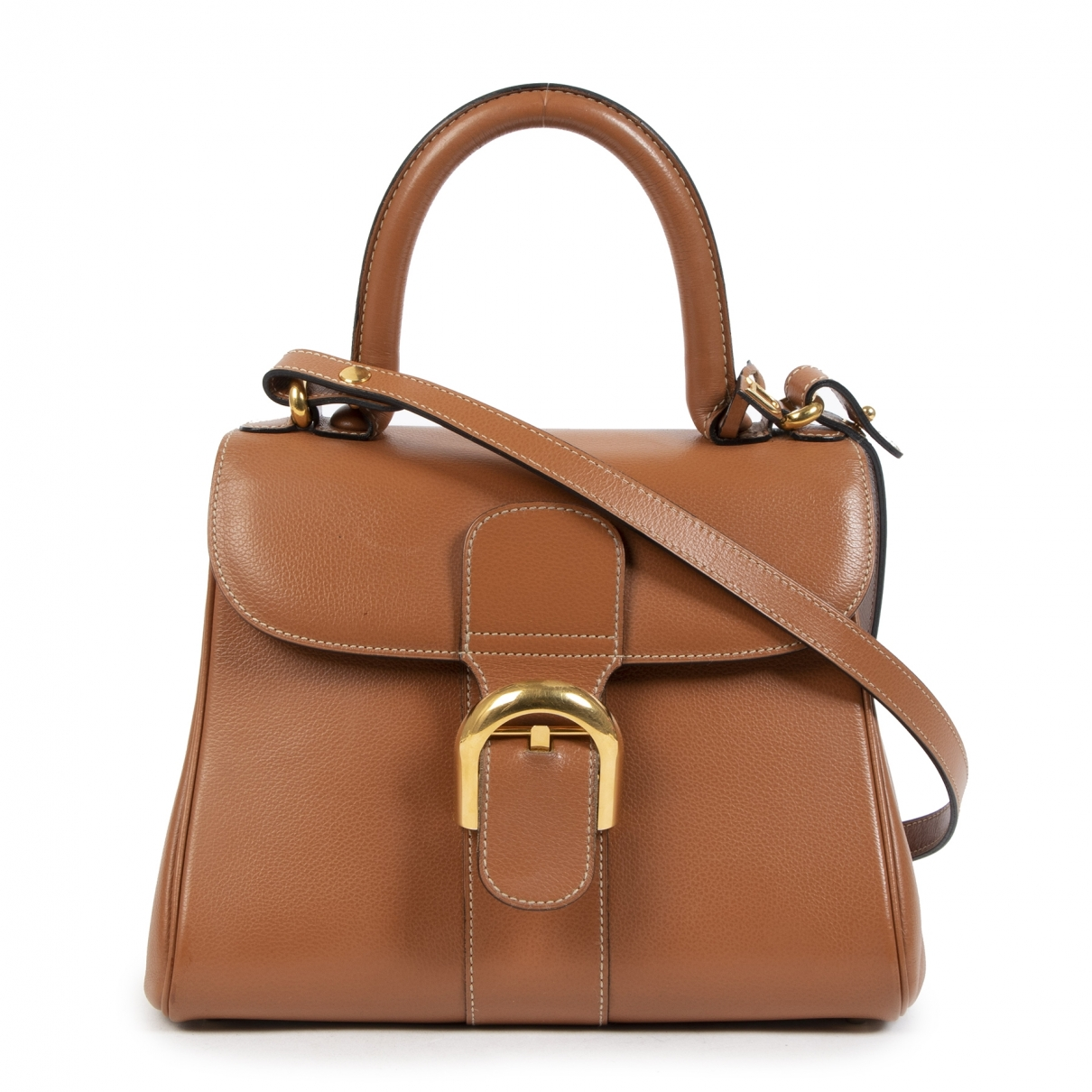 Delvaux Le Brillant Camel Leather handbag for Women \N