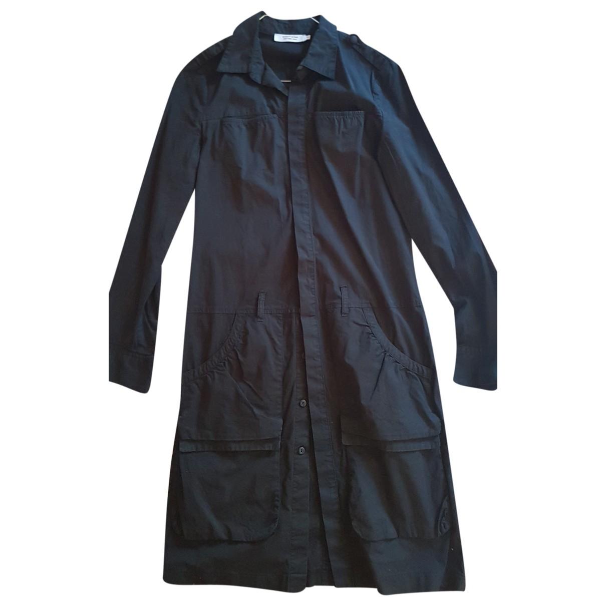 Comptoir Des Cotonniers \N Kleid in  Schwarz Baumwolle - Elasthan