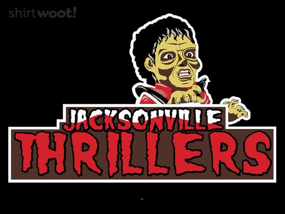 Jacksonville Thrillers T Shirt
