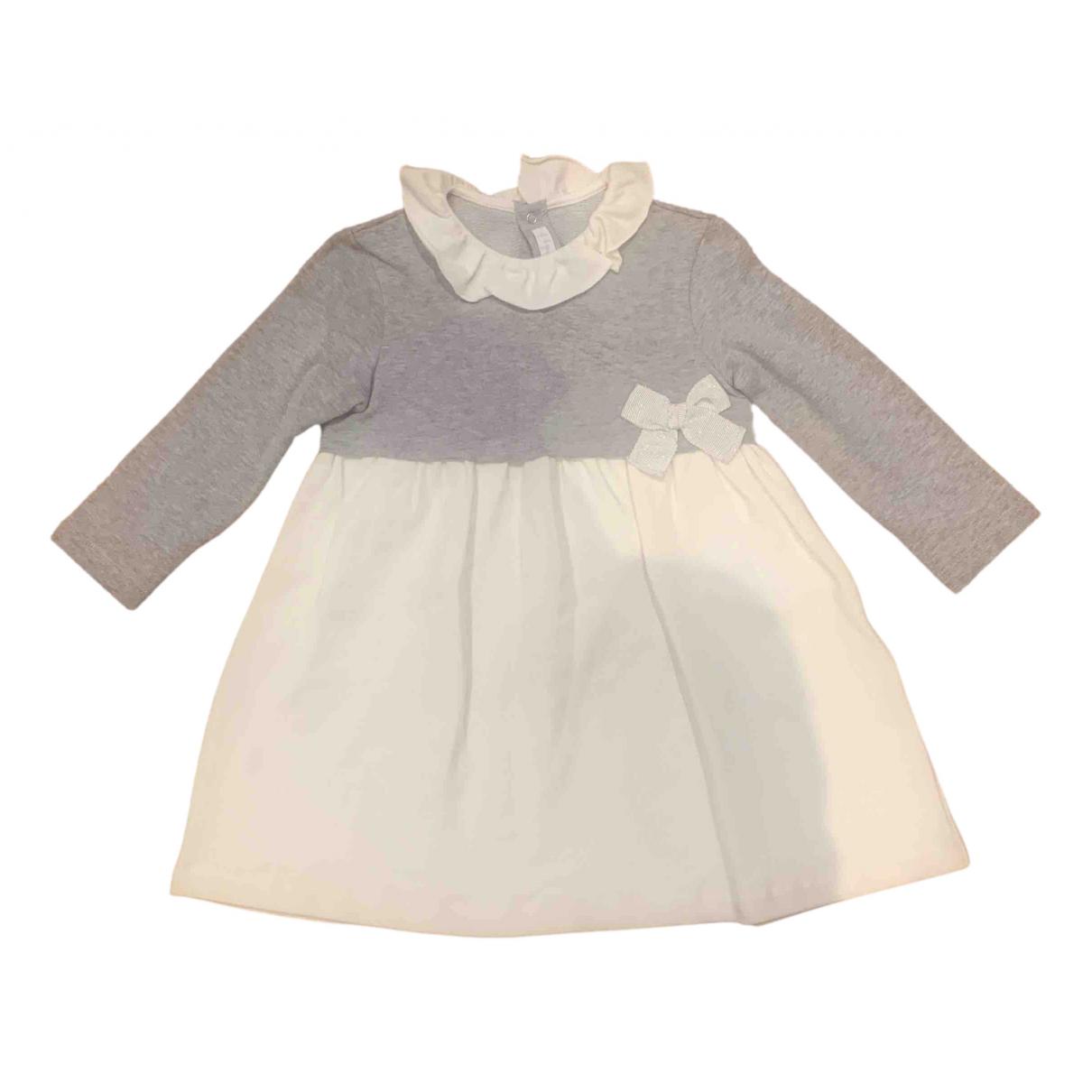 Il Gufo \N Kleid in  Grau Baumwolle