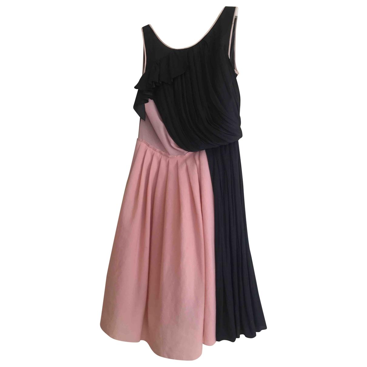 Nina Ricci \N Pink Silk dress for Women 34 FR