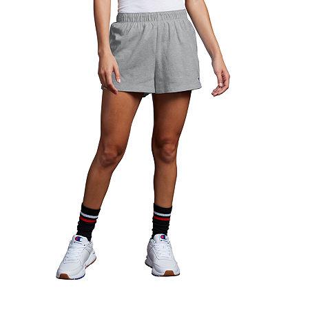 Champion Womens Running Short, Medium , Gray