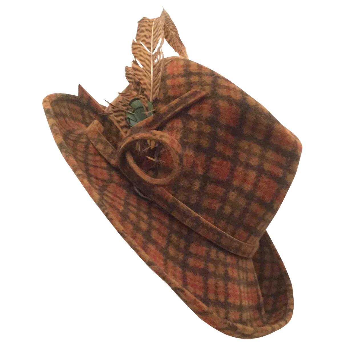 Sombrero Artisanal de Lana Non Signe / Unsigned
