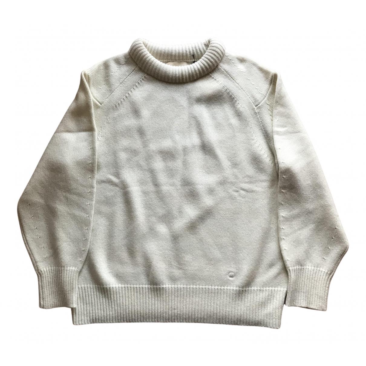 Loulou Studio N White Wool Knitwear for Women M International