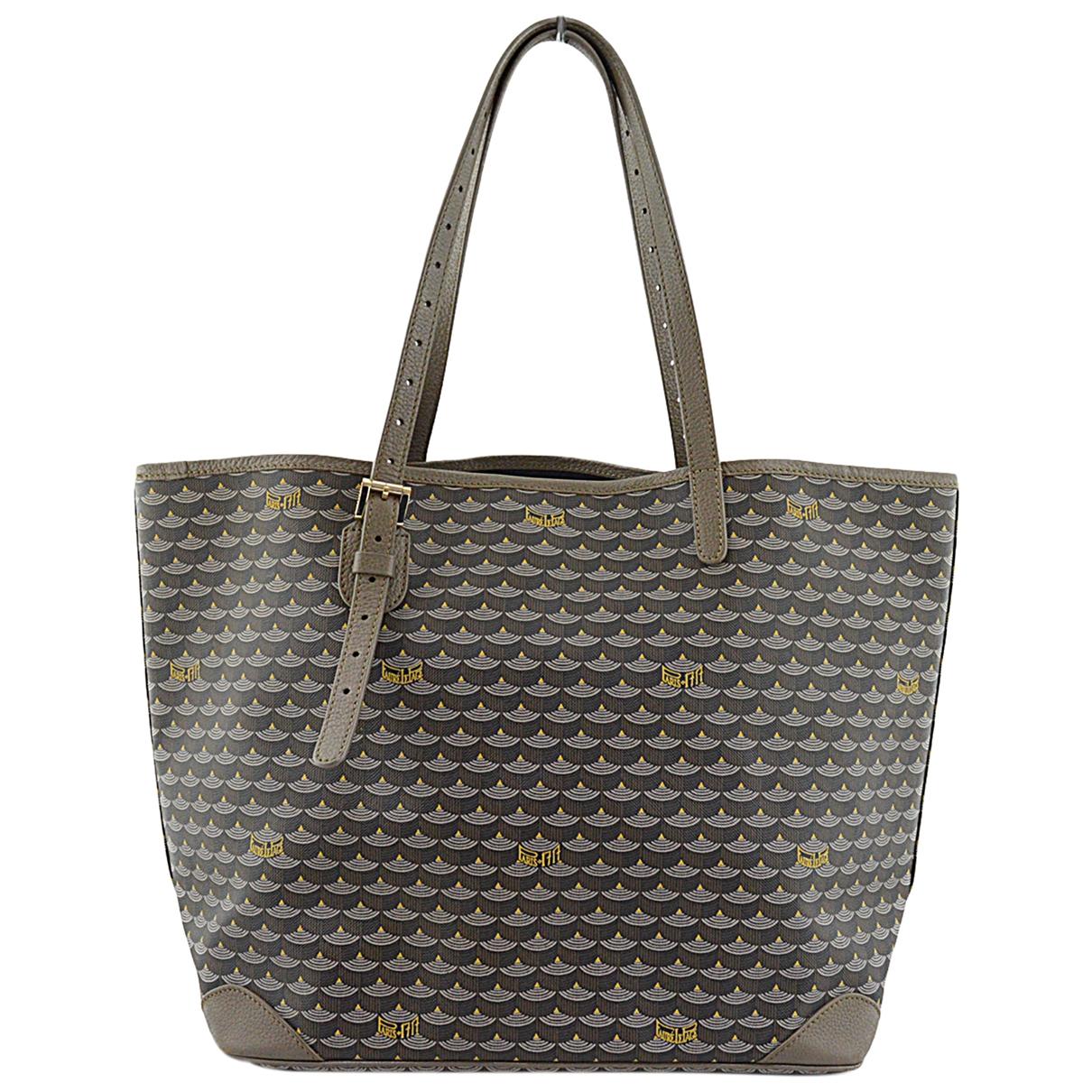 Faure Le Page Daily Battle Handtasche in  Grau Leinen