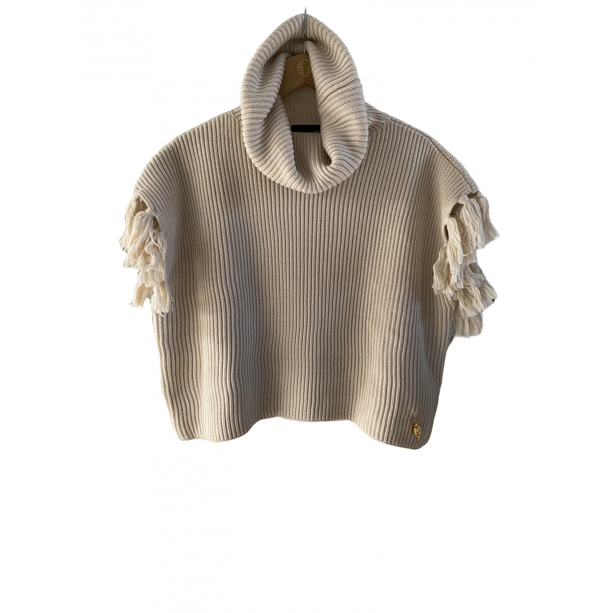 Moschino Love \N Beige Wool Knitwear for Women 44 IT