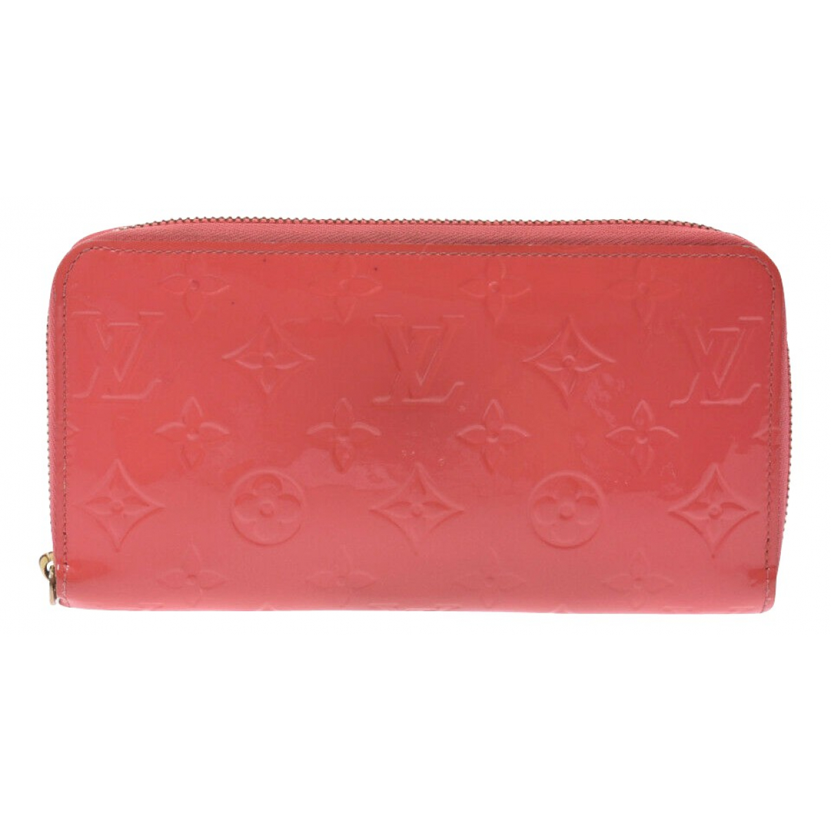 Louis Vuitton Zippy Pink Leather wallet for Women \N