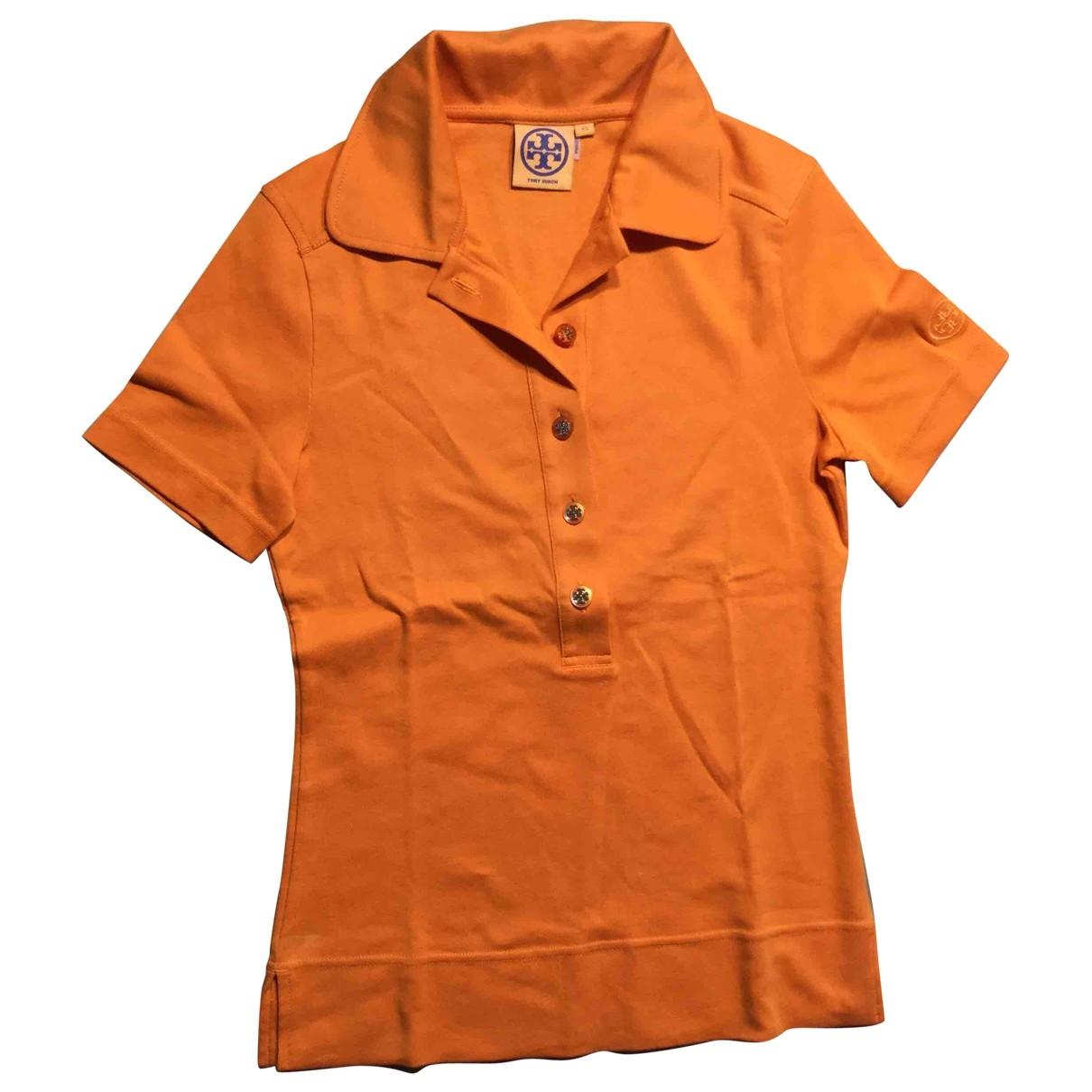 Tory Burch \N Top in  Orange Baumwolle