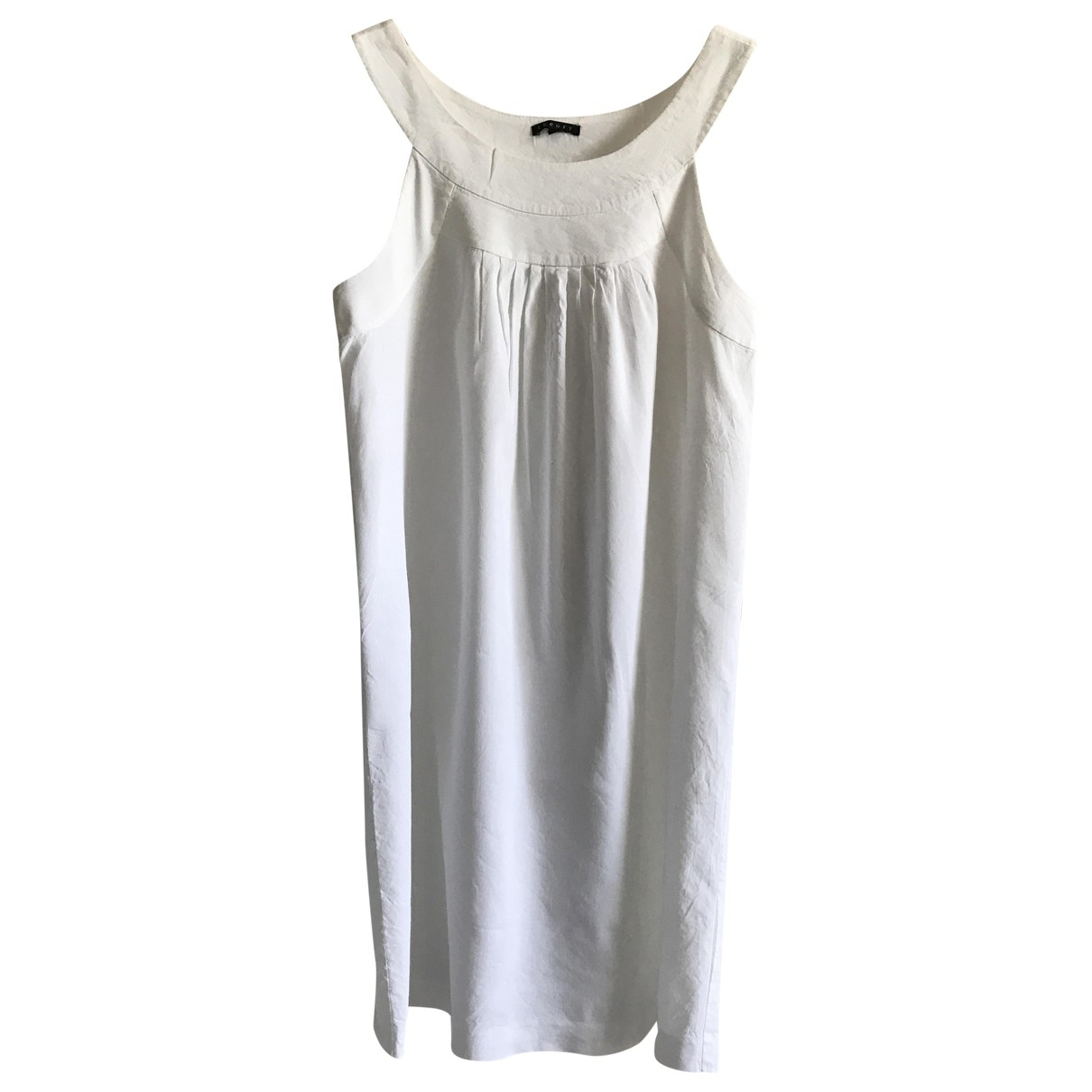 Theory \N White Linen dress for Women 4 US