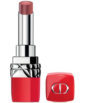 Rouge Dior Ultra Rouge Ultra Pigmented Hydra Lipstick - 12H Weightless Wear - 555 ULTRA KISS (Coral Pink - Peachy Coral)