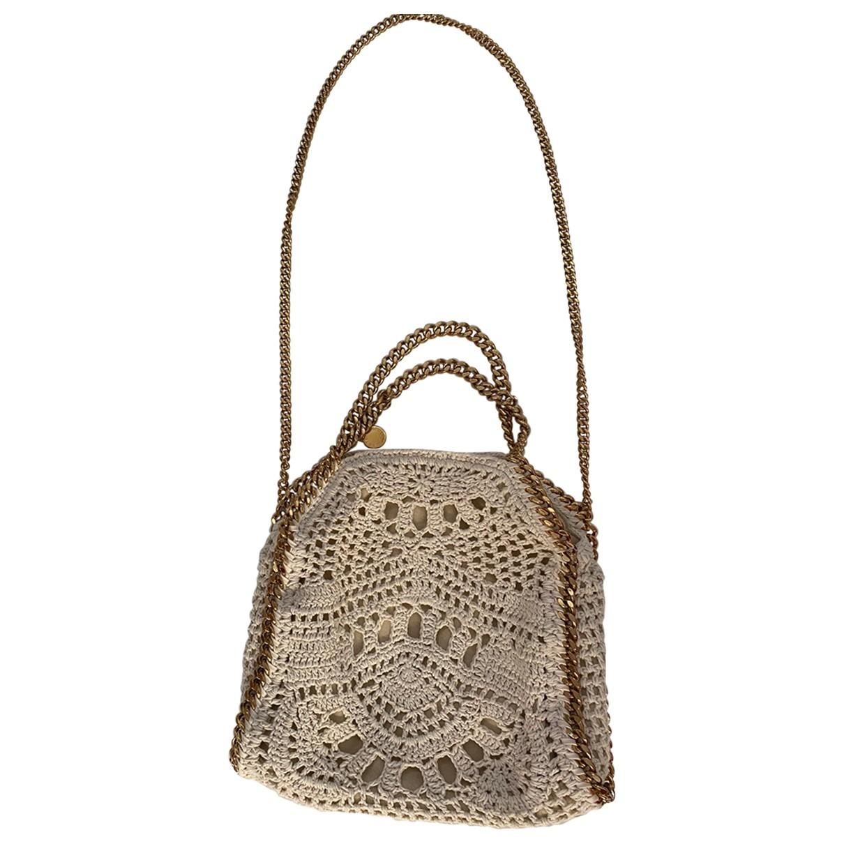 Stella Mccartney Falabella Beige Cotton handbag for Women \N