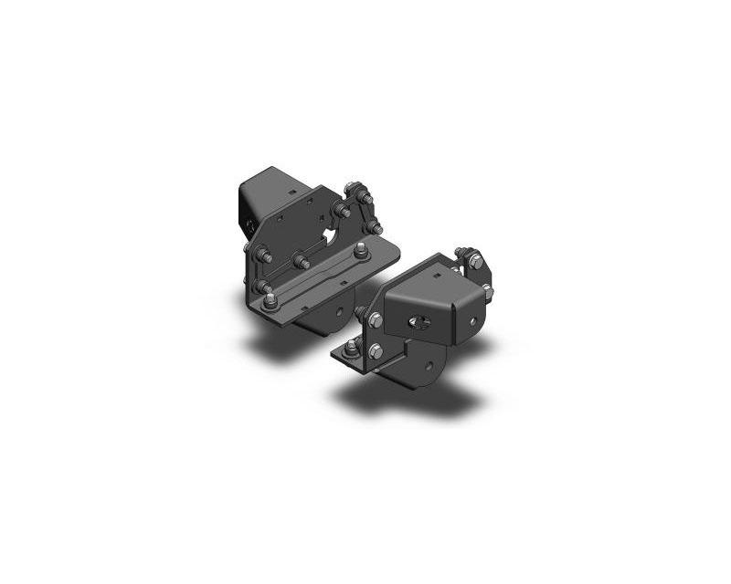 Clayton Offroad COR-2208100-COR JK Rear Frame Brackets