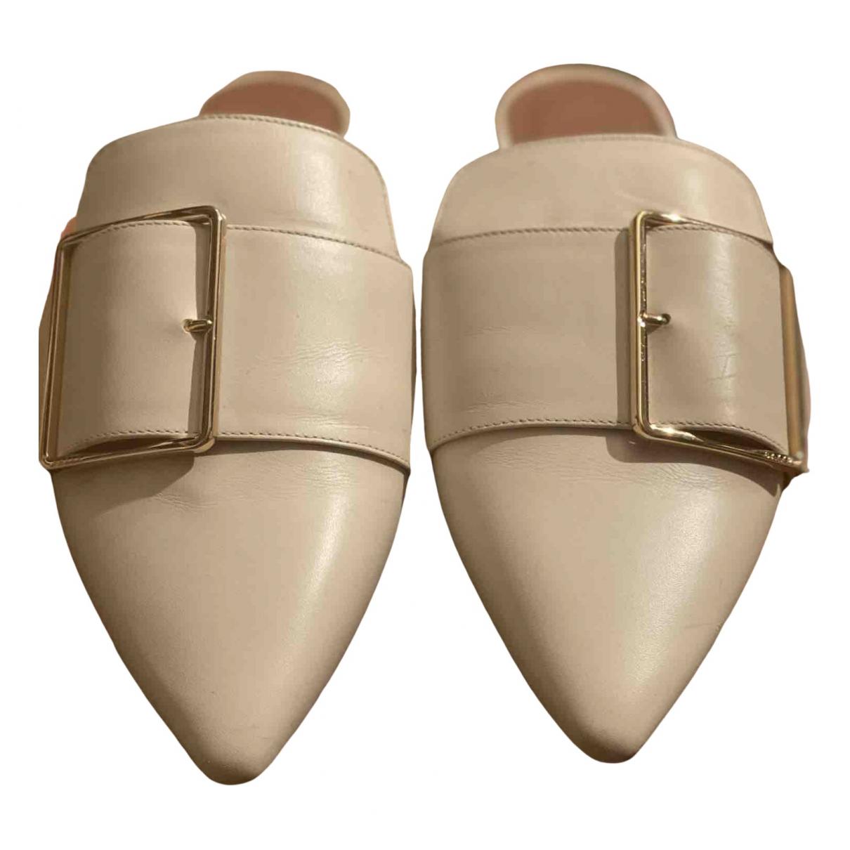 Bally \N Sandalen in  Beige Leder