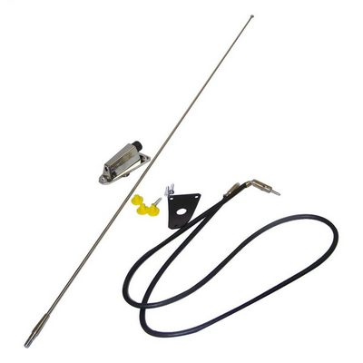 Crown Automotive Chrome Antenna Kit (Chrome) - 8127842K
