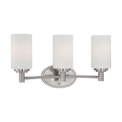 190024217 Pittman 3-Light Wall Lamp in Brushed