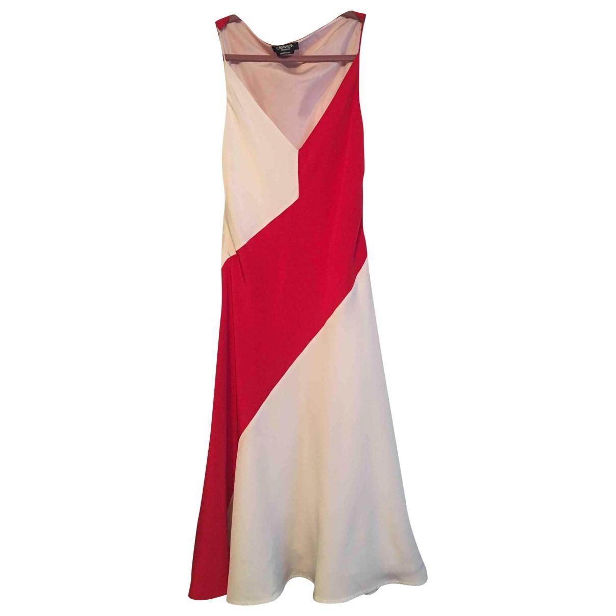 Calvin Klein 205w39nyc \N Kleid in  Weiss Synthetik