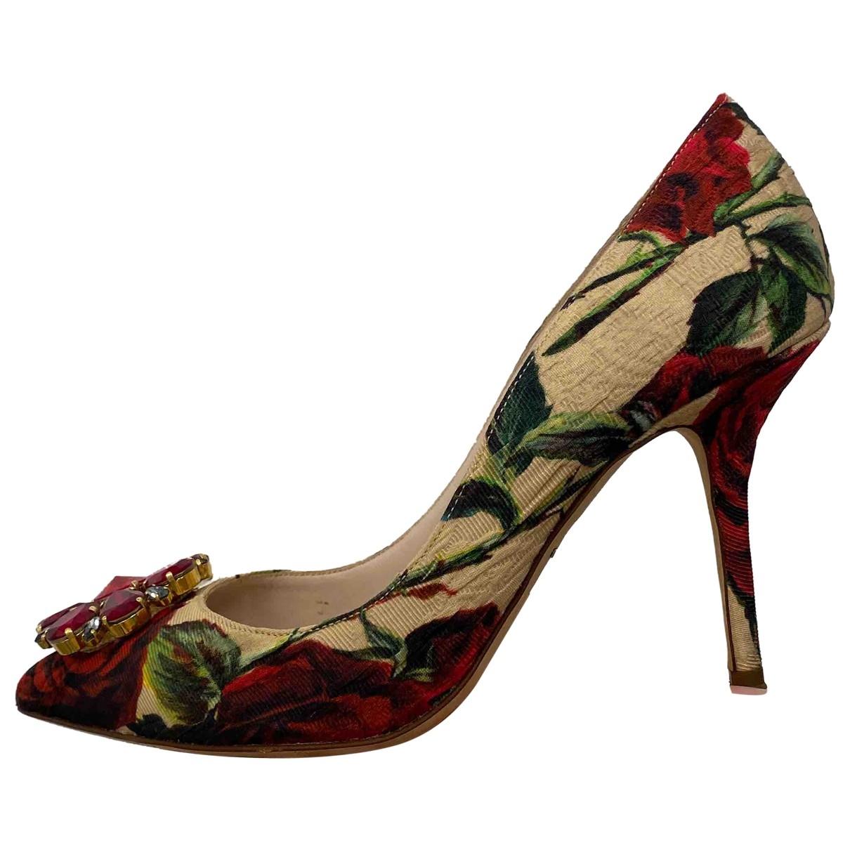 Tacones Taormina de Lona Dolce & Gabbana
