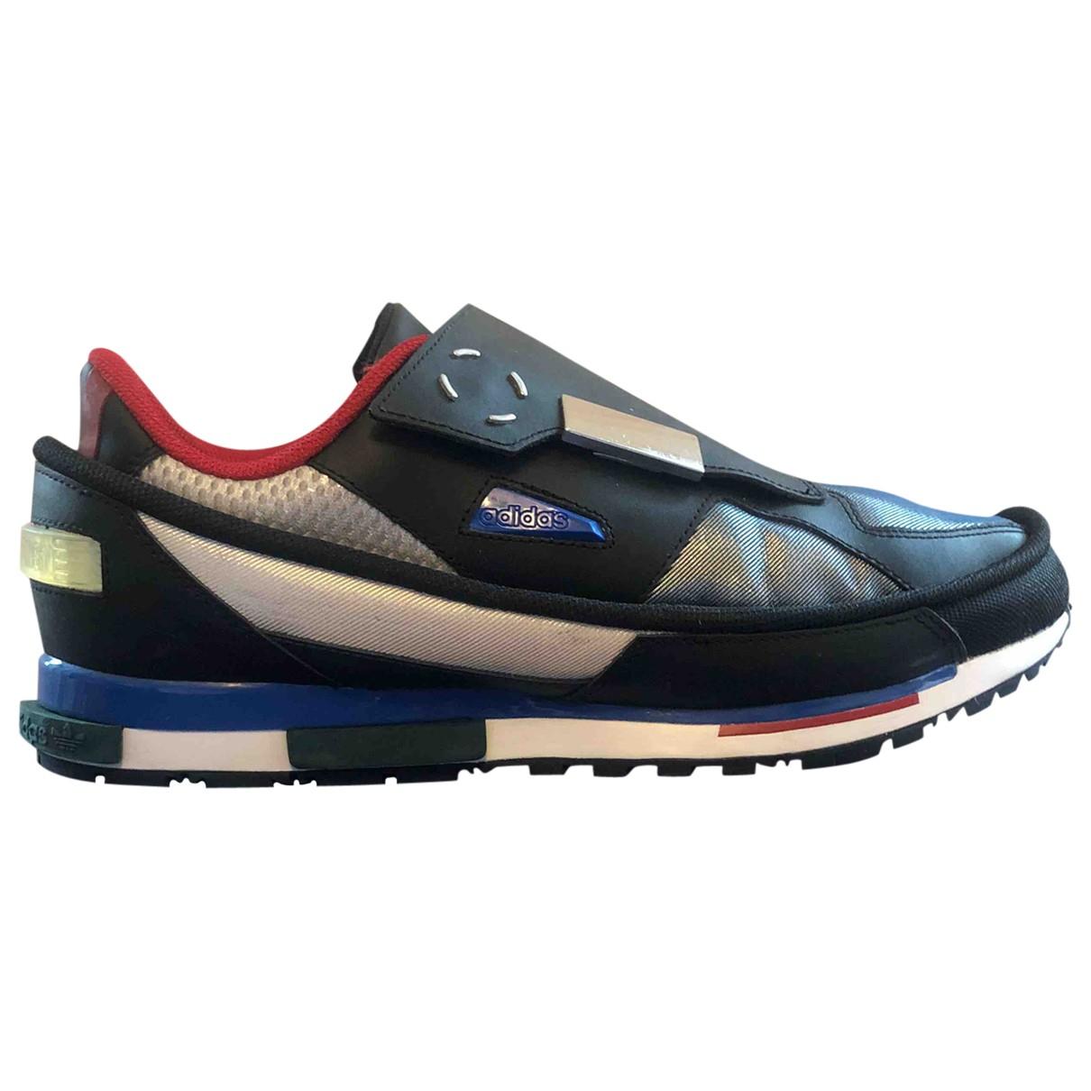 Adidas X Raf Simons \N Sneakers in  Bunt Leinen