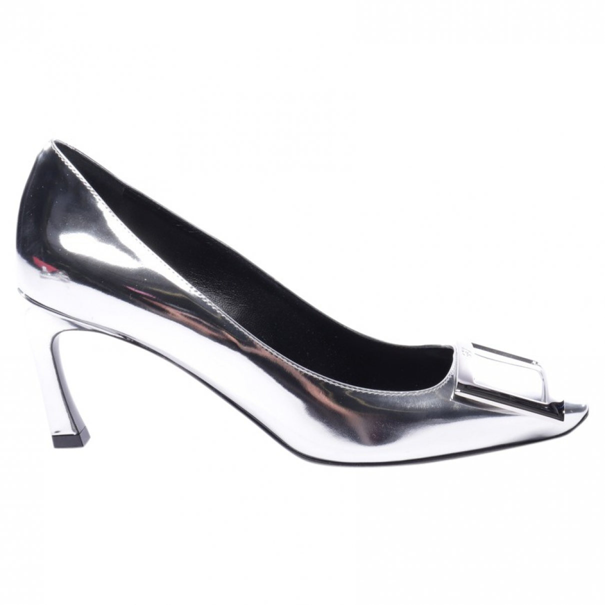 Roger Vivier \N Pumps in  Metallic Leder