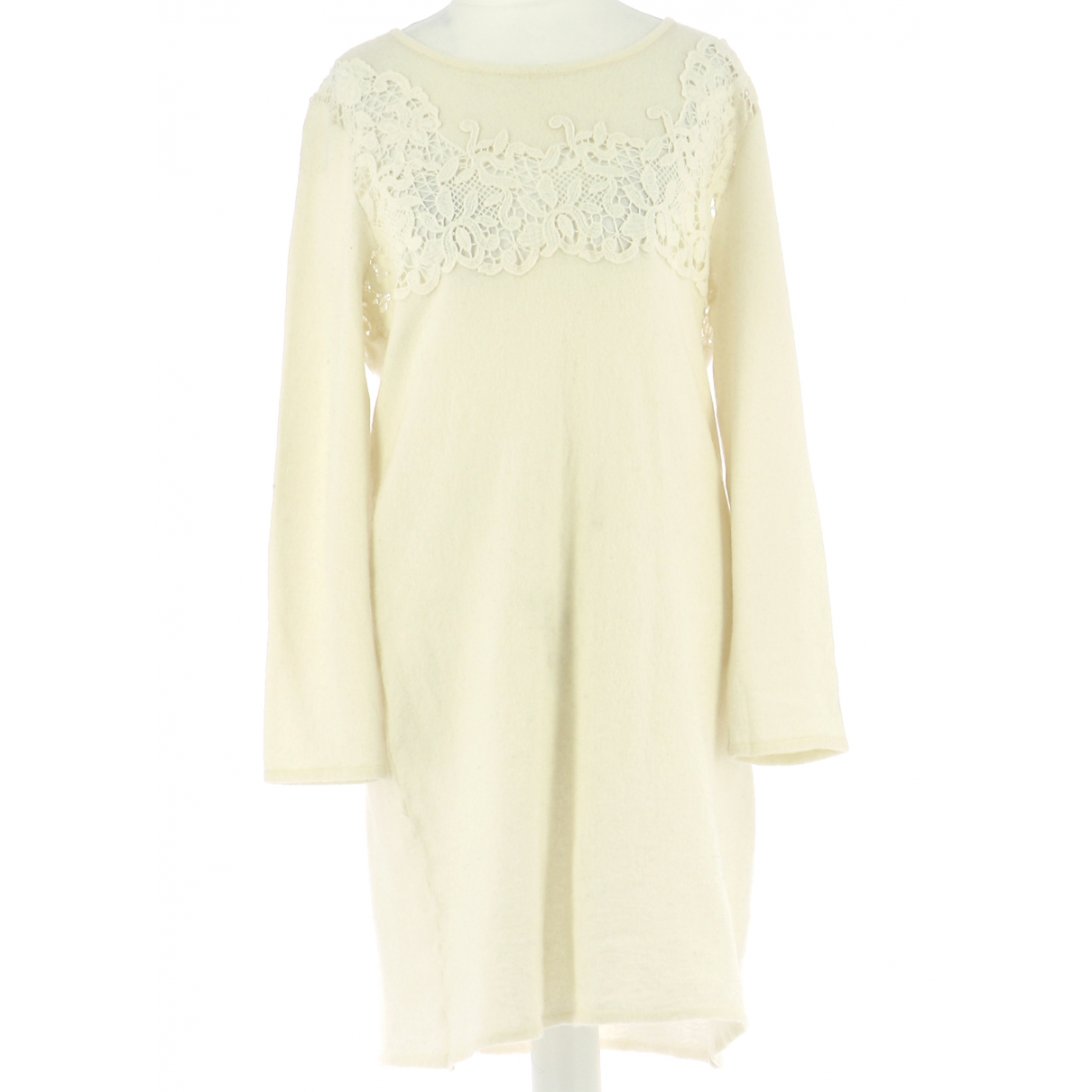 Ermanno Scervino N Wool dress for Women 42 FR