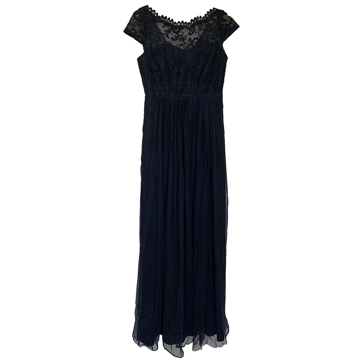 - Robe Epaulettes pour femme - bleu